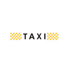 taxi icon design template isolated vector image