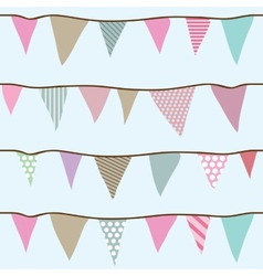 Flags seamless pattern for your designs vector image