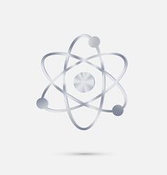 atom molecule vector image