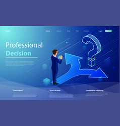 choice process direction choose options solution vector image