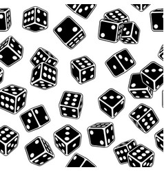 dice seamless vector image