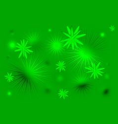 Green stars background vector