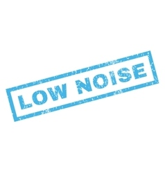 Low Noise Rubber Stamp vector