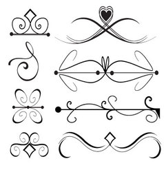 -Ornament-Set-1 vector image