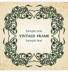Celtic frame vector image