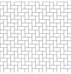 herringbone parquet seamless pattern vector image vector image