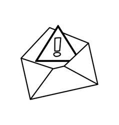 isolated email or Mail symbol vector image