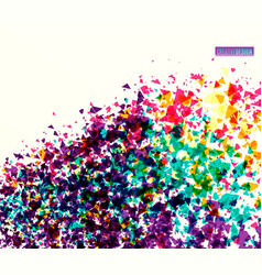 dynamic creative abstract vector image vector image