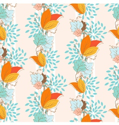 Ivy seamless pattern vector image
