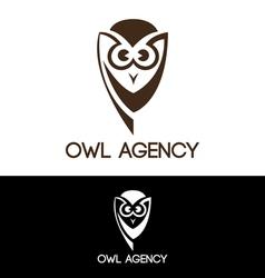 Owl agency vector image