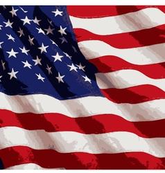 American flag 02 vector