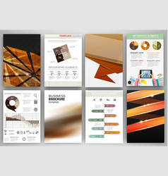 brown and black business backgrounds and abstract vector image