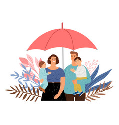 Care your family vector