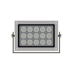Ir spotlight projector image vector