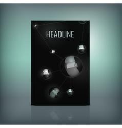 Molecule Brochure 02 A vector image