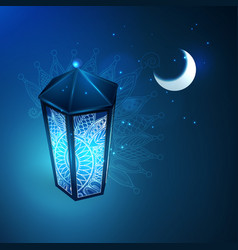 the concept of ramazan vector image