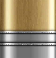 metallic background 1401 vector image vector image