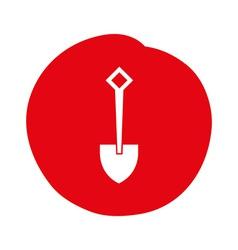 shovel design vector image