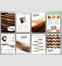 brown creative backgrounds and abstract concept vector image