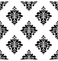 Foliate seamless pattern background vector image