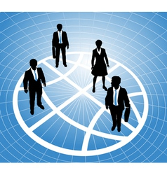 Group business people vector