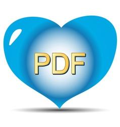 I love pdf vector