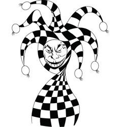 Joker cartoon vector image
