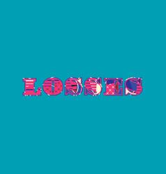 Losses concept word art vector