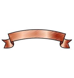 Ribbon banner blank vector