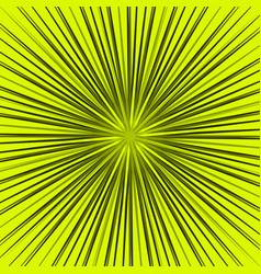 Starburst sunburst element radial radiating lines vector
