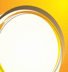 Technical base orange vector
