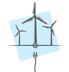 Wind Energy vector