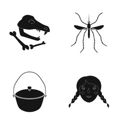 history museum nature and other web icon in vector image vector image
