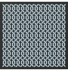 Decorative seamless background vector image