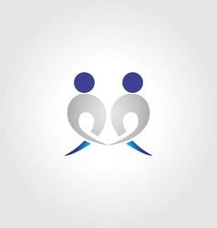 People logo icon vector