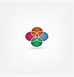 Abstract icon vector