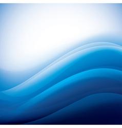 aqua waves background folding vector image