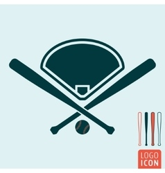 Baseball icon isolated vector image
