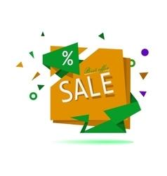 Big sale Sale tag Sale poster vector image