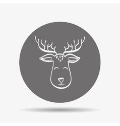 Deer icon design vector