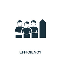 efficiency icon premium style design from vector image