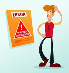 Error message vector
