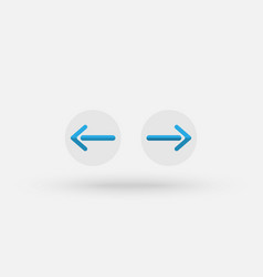 exchange icon with a straight design vector image