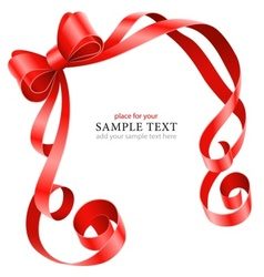 Greeting card template with vector