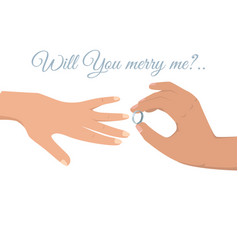 lovely wedding ceremony isolated vector image