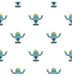 Machine robot pattern seamless vector