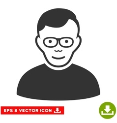 Pensioner EPS Icon vector