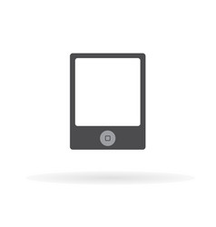 tablet icon flat design style 11 vector image