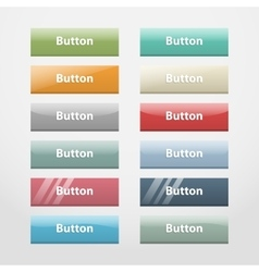 Web buttonspart i vector