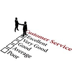 business people handshake vector image vector image